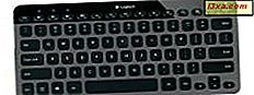 Gjennomgang av Logitech Bluetooth Illuminated Keyboard K810