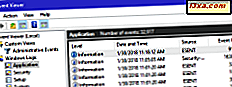 Hoe te werken met de Event Viewer in Windows
